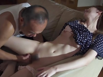 Horny Father in law Molest plus Fuck Stepdaughter