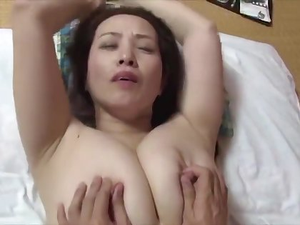 japanese horny big boobs counterfeit mom