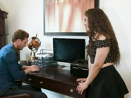 Teen Ziggy Notability Seduces Older Man Into Anal